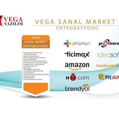 Vega Sanal Market Entegrasyonu